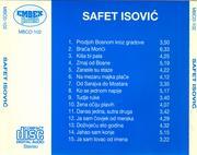 Safet Isovic - Kolekcija Safet_Isovic_-_1995_B