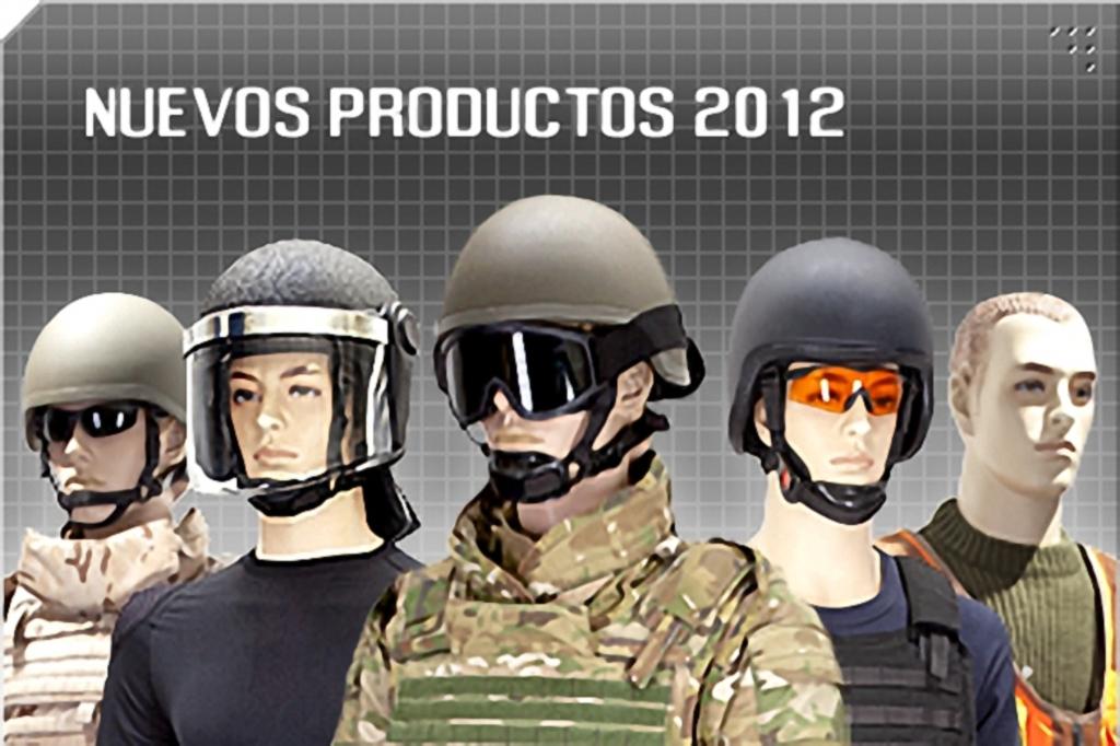 Noviembre de 2014 - Diciembre de 2016. Nuevo casco de combate para el Ejército español. Productos_2012_001