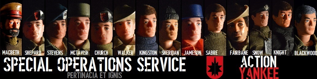 ActionYankee's Action Man Universe SOS