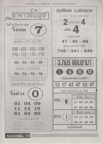 16 / 08 / 2558 MAGAZINE PAPER  - Page 3 Ruamajandang_10