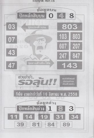 16 / 08 / 2558 MAGAZINE PAPER  - Page 3 Ruamyat_14