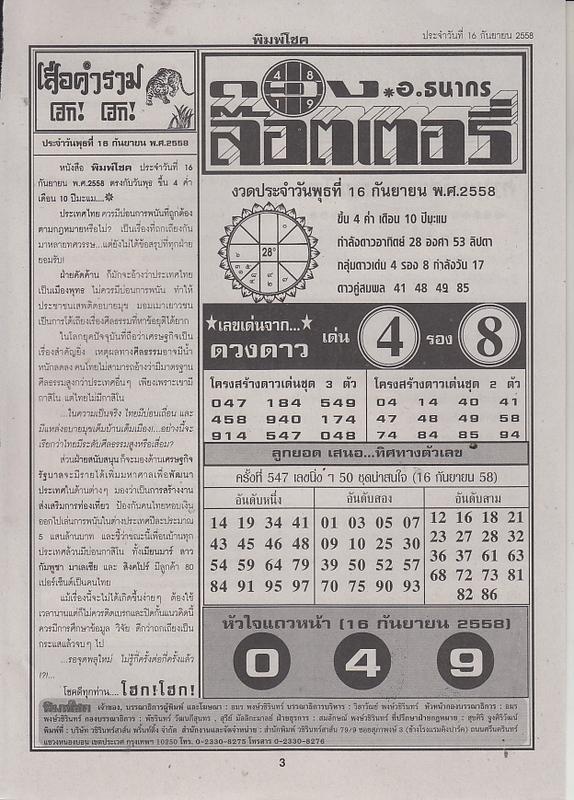 16 / 09 / 2558 FIRST PAPER . Pimchoke_3