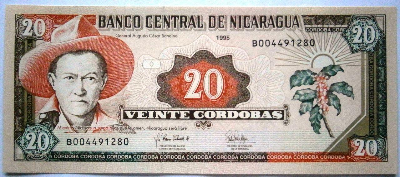 Nicaragua 20 Cordobas 1995  P1010023