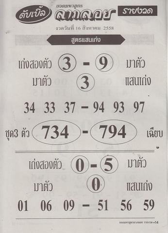16 / 08 / 2558 MAGAZINE PAPER  Dabble_laploy_13