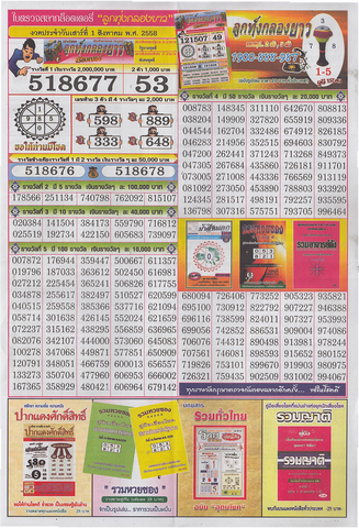 16 / 08 / 2558 MAGAZINE PAPER  - Page 2 Lottery_result_015