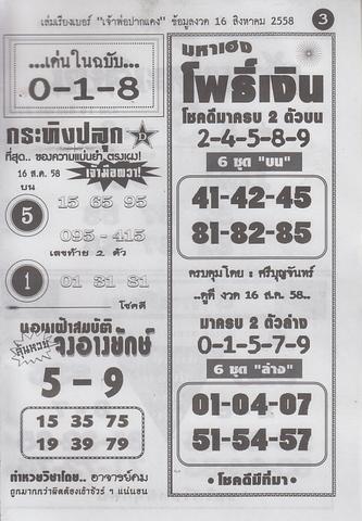 16 / 08 / 2558 MAGAZINE PAPER  Jaoporpakdang2_3