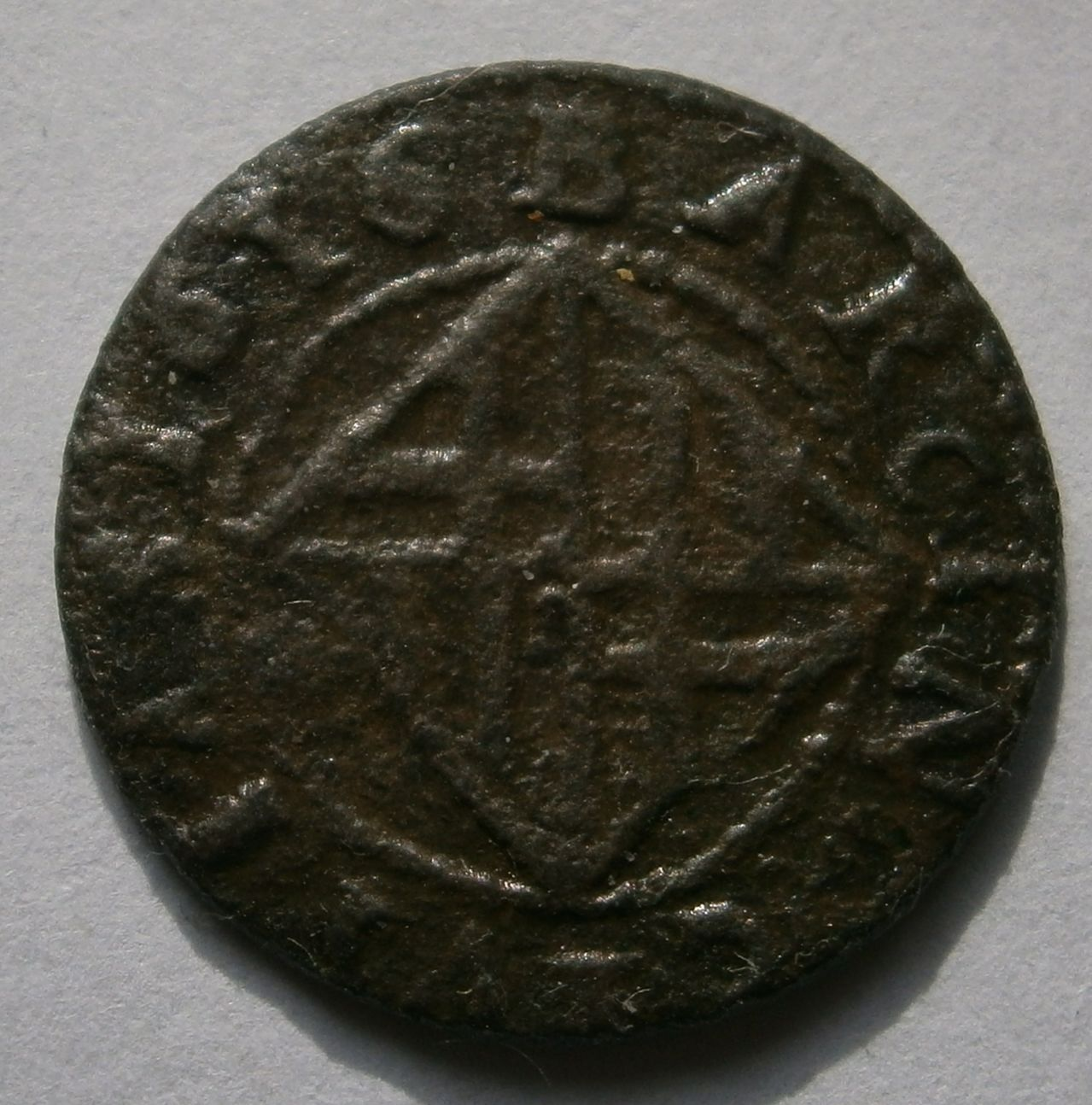 Felipe III 1616 Ardite de Barcelona  P1010055