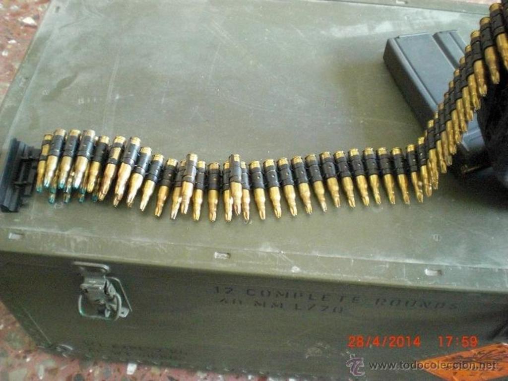 Cargador de plástico para munición de fogueo Minimi/M249. ¿Posible uso en la AMELI? 43058431_19775880