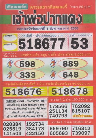16 / 08 / 2558 MAGAZINE PAPER  Jaoporpakdang2_1