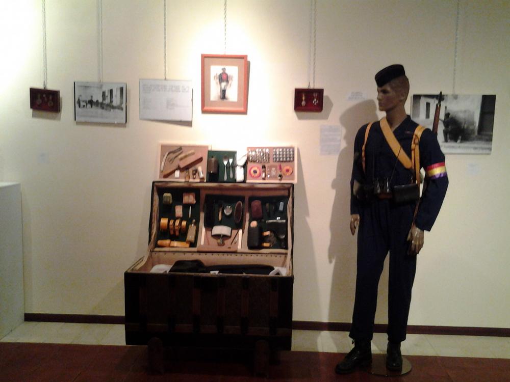 Exposicion de La Guardia Civil, Museo Villa Señor de Ciudad Real. 14 de Junio - 20 de Julio, 2013. Expo_GC_027_preparativos