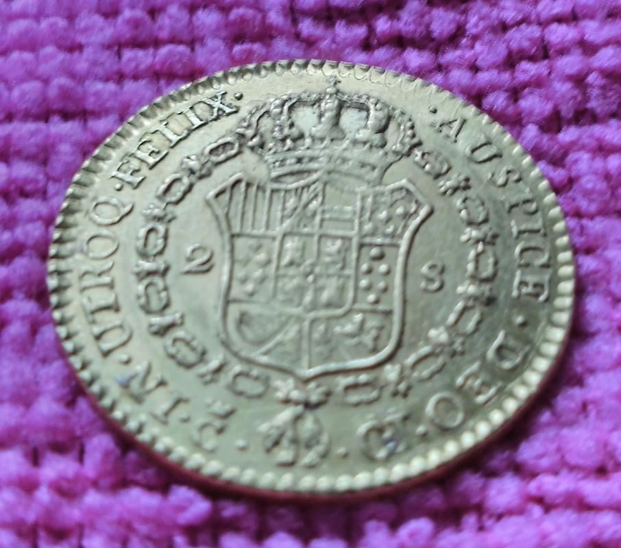 2 Escudos. Fernando VII 1814 CJ/CI. Ceca de Cádiz IMG_20180826_110012