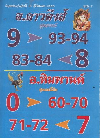 16 / 08 / 2558 MAGAZINE PAPER  - Page 2 Lektawada_3