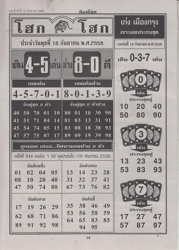 16 / 09 / 2558 FIRST PAPER . Pimchoke_14