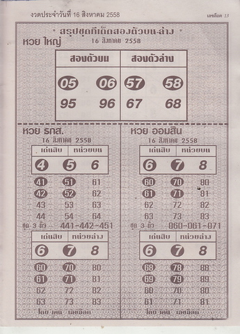 16 / 08 / 2558 MAGAZINE PAPER  - Page 2 Leklock_13