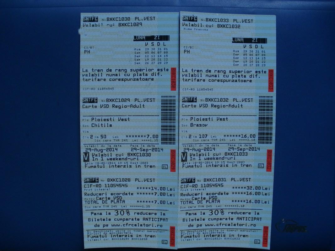 Bilete C.F.R. (2) - Pagina 2 1234