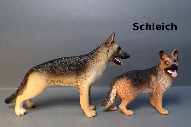 Mojo 2017 German shepherd female with puppy :-D Coll_Schy_Comp_Schleich