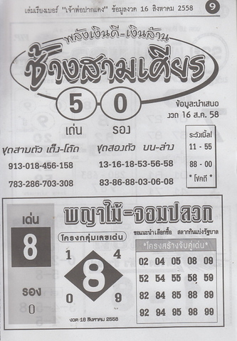 16 / 08 / 2558 MAGAZINE PAPER  Jaoporpakdang2_9
