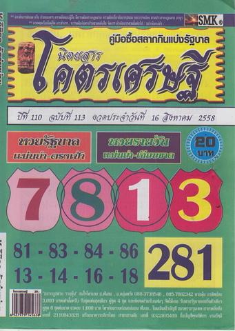 16 / 08 / 2558 MAGAZINE PAPER  Codesedtee_1
