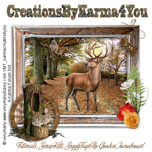 Free forum : CreationsByKarma4You Header