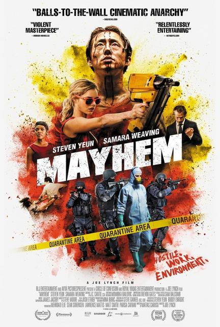 Mayhem (2017) [Ver Online] [Descargar] [HD 1080p] [Castellano-Inglés] [Acción] Mayhem-695673388-large