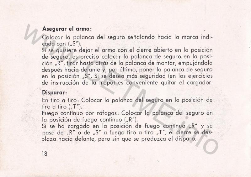 1956 - DESCRIPCION ABREVIADA DEL FUSIL DE ASALTO CETME - CETME A-2a  1956_CETME_A-2a_FORO_020