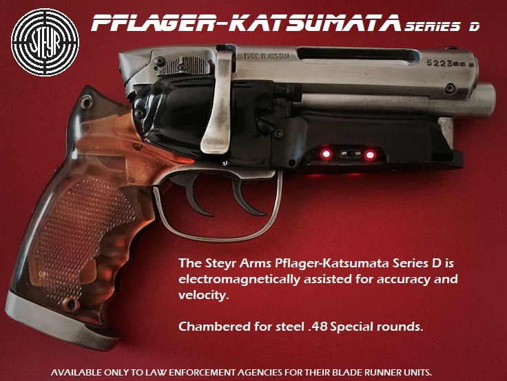 3D Printing a Blade Runner Blaster! PKD