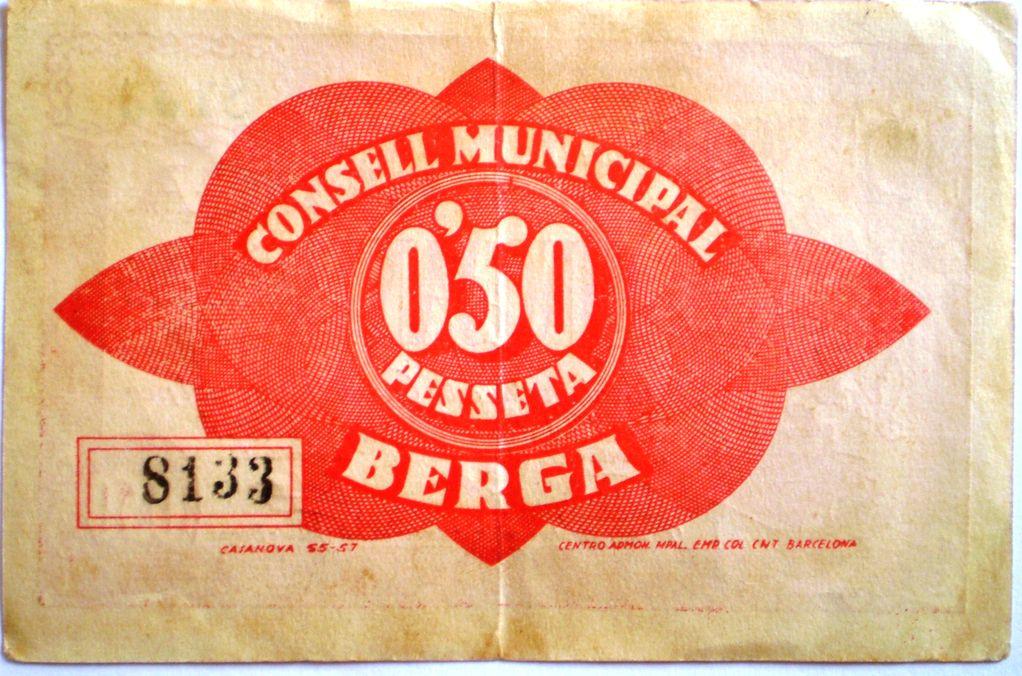 50 Céntimos Berga, 1937 (Barcelona - Guerra Civil) 006