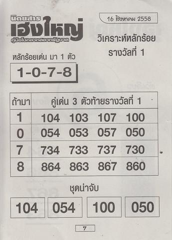 16 / 08 / 2558 MAGAZINE PAPER  Heangyai_new_book_7