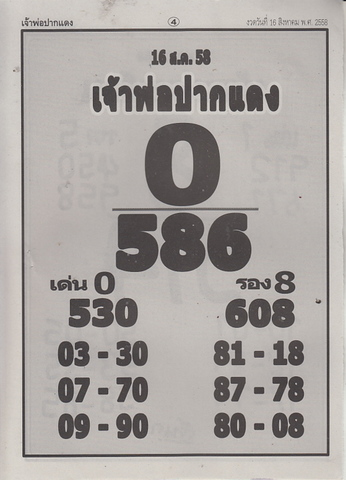16 / 08 / 2558 MAGAZINE PAPER  Jaoporpakdang_4
