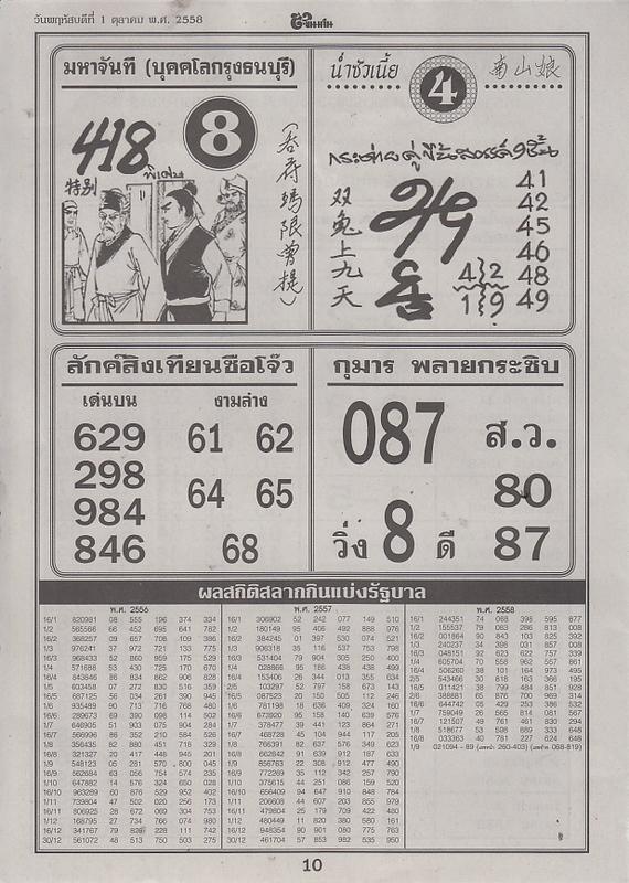 01 / 10 / 2558 FIRST PAPER Tingkanomjean_10