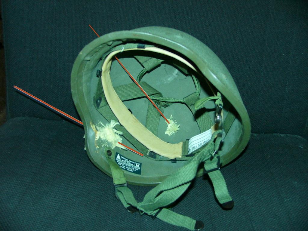 """casco - Casco de Instrucción y Combate """"Marte"""" 01-85/86 Marte_I_85_1986_Pruebas_Balisticas_002"""