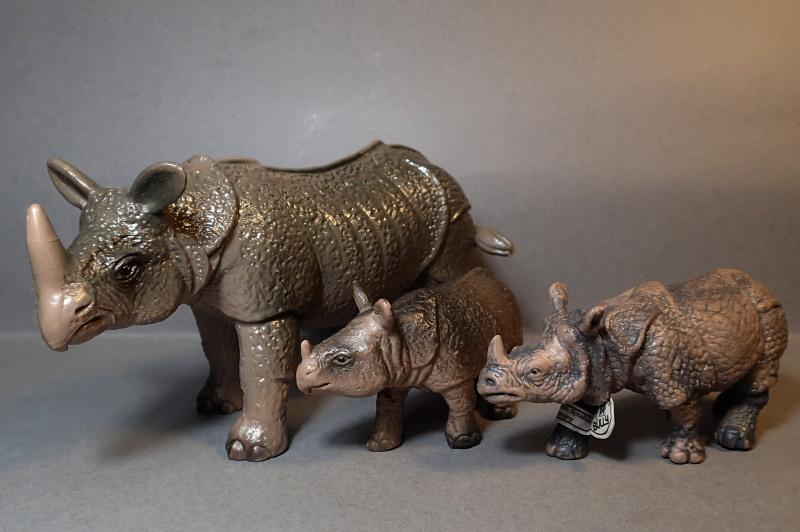 The Javan rhino from Bullyland :-) Bully_Rhino_Baby_Bully