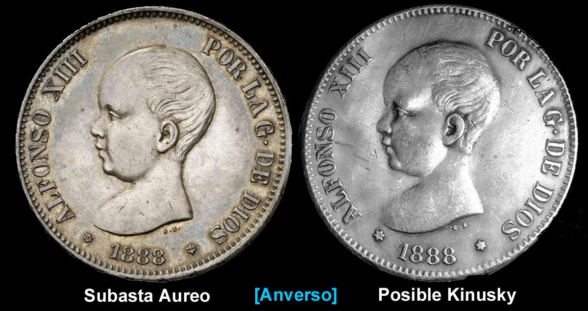 BONITO DURO ALFONSO XIII 1888 M.S. M. - AYUDA AL FORO - GRACIAS Prueba_Kinusky_en_Aureo_A