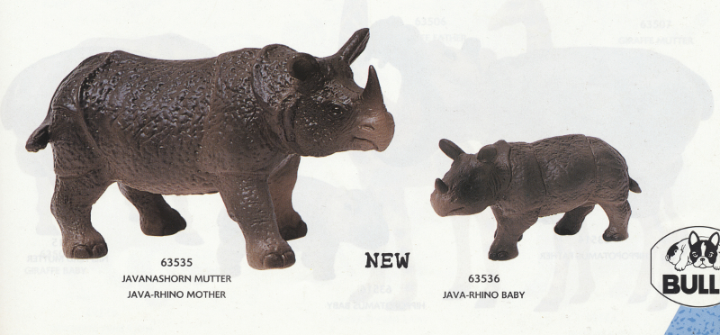 The Javan rhino from Bullyland :-) Rhinos99