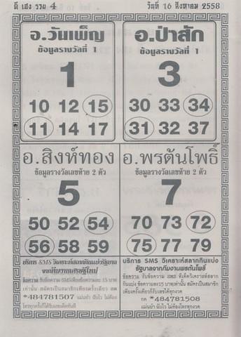 16 / 08 / 2558 MAGAZINE PAPER  - Page 4 Sedteemai_17