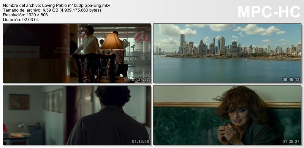Loving Pablo (2017) [Ver Online] [Descargar] [HD 1080p] [Español-Inglés] [Drama] Loving_Pablo_m1080p_Spa-_Eng.mkv_thumbs