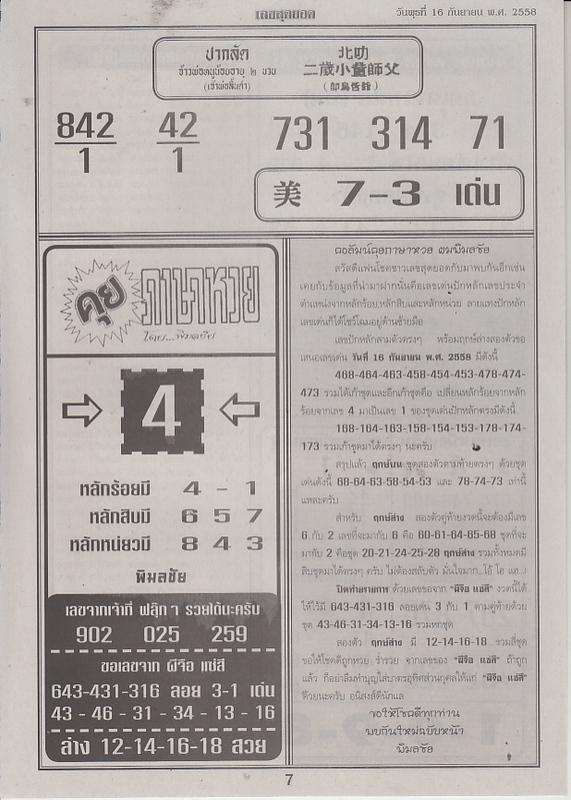 16 / 09 / 2558 FIRST PAPER . Leksudyod_7