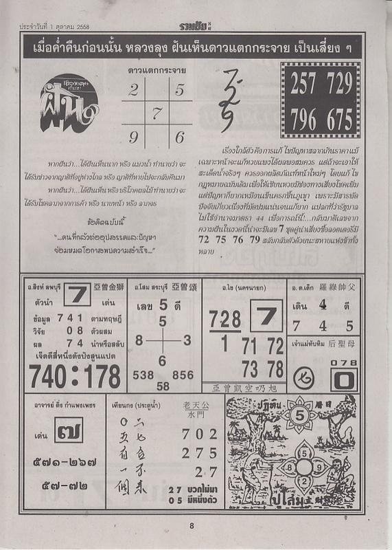 01 / 10 / 2558 FIRST PAPER Ruamchai_8
