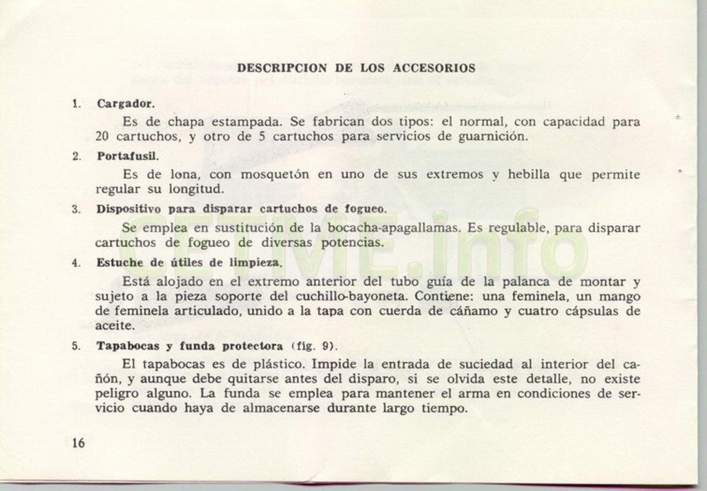 "Manual CETME C ""Santa Bárbara"" 1º Modelo. Manual_p16"