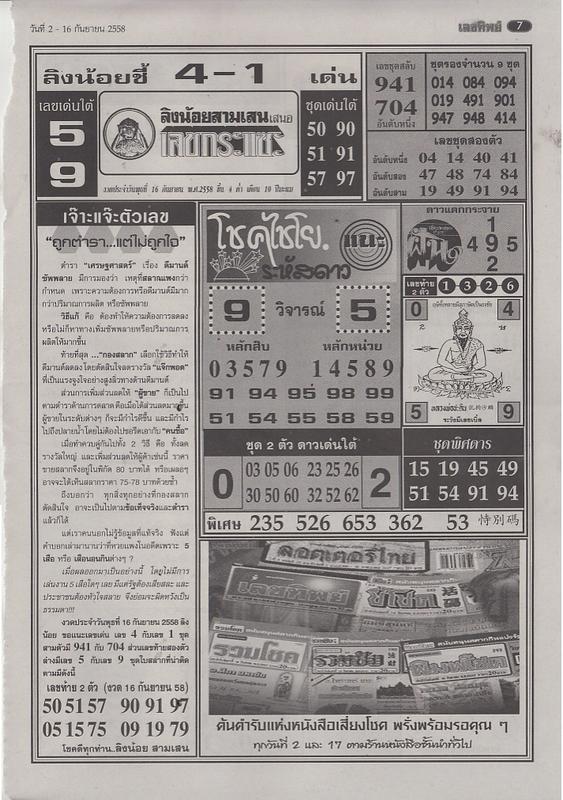 16 / 09 / 2558 FIRST PAPER . Lektip_7