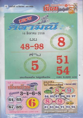 16 / 08 / 2558 MAGAZINE PAPER  - Page 4 Zianepanthae_6