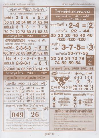16 / 08 / 2558 MAGAZINE PAPER  - Page 3 Pornthep_6