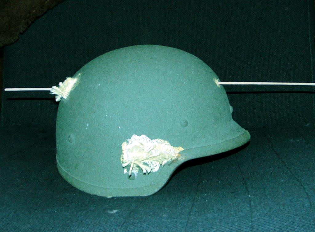 """casco - Casco de Instrucción y Combate """"Marte"""" 01-85/86 Marte_I_85_1986_Pruebas_Balisticas_001"""