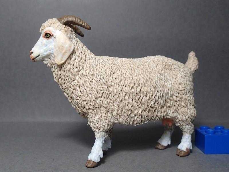 Five fantastic, fuzzy farm figures from Papo !!! :-D Fuzz_Goat