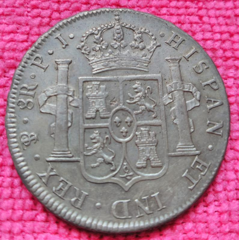 8 Reales Fernando VII. Potosí 1813·PJ IMG_20180610_164751