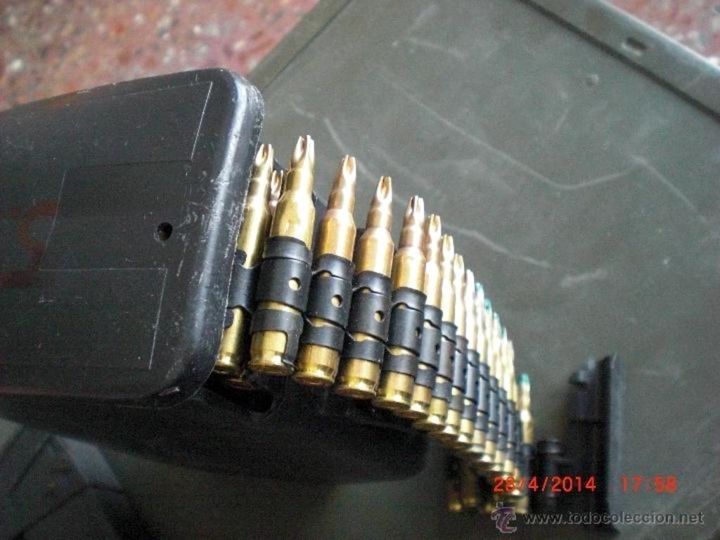 Cargador de plástico para munición de fogueo Minimi/M249. ¿Posible uso en la AMELI? 43058431_19775926