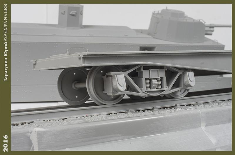Советский артиллерийский бронированный вагон ПЛ-37, Trumpetеr, 1/35 PENT1549_1