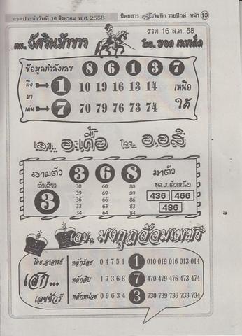 16 / 08 / 2558 MAGAZINE PAPER  - Page 2 Lunratuke_13