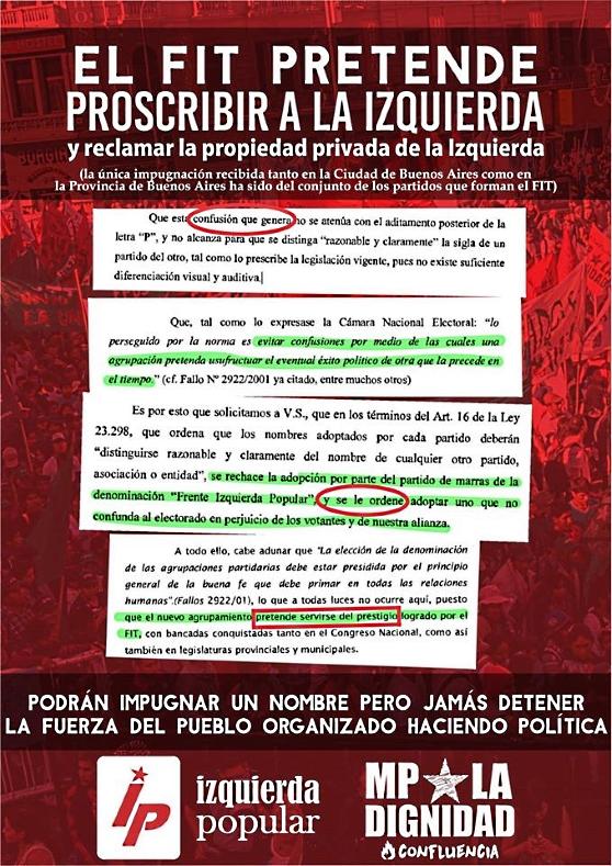 Izquierda Popular, un nuevo partido para la Argentina plebeya - Página 2 Fip