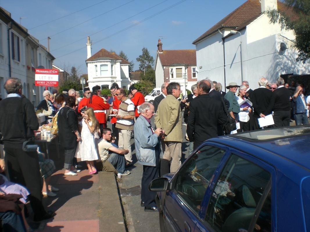 Private  William Cooper Event in Worthing Sussex CIMG3697